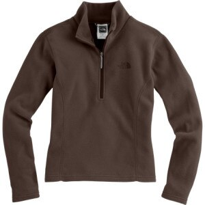 photo: The North Face Girls' TKA 100 Glacier 1/4 Zip fleece top