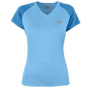 The North Face Reflexx V-Neck Top - Short-Sleeve - Womens