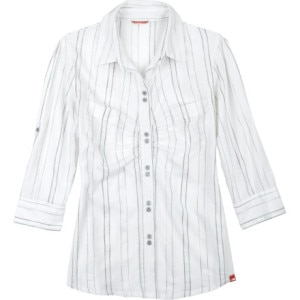The North Face Good Luck Stripe Shirt - 3/4 Sleeve - Womens