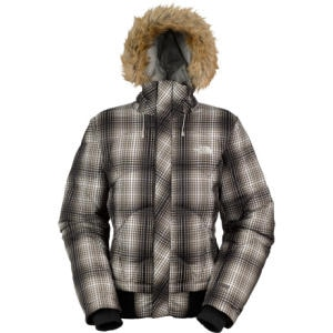The North Face Furallure Plaid Down Jacket - Womens