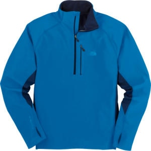 The North Face Pluto Hill Zip Mock Top - Long-Sleeve - Mens