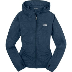 The North Face Embossed TKA 100 Masonic Full-Zip Hooded Fleece Sweatshirt - Womens