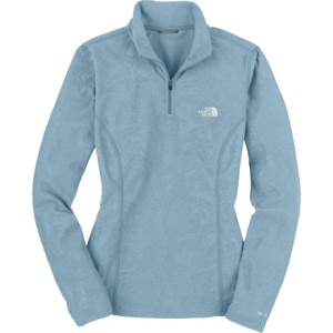 The North Face Embossed TKA 100 Glacier 1/4 Zip Top - Long-Sleeve - Womens