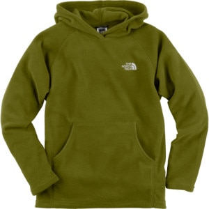 The North Face TKA 100 Glacier Pullover Hooded Fleece Jacket - Boys