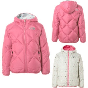 The North Face Moondoggy Reversible Down Jacket - Girls