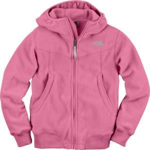 The North Face Khumbu Hooded Fleece Jacket - Girls
