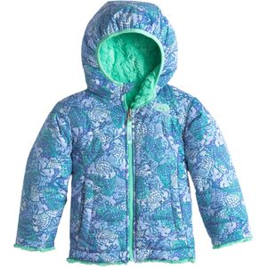 The North Face Mossbud Swirl Reversible Hooded Jacket - Toddler Girls'