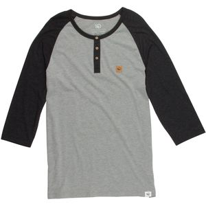 Tentree Standard Henley Shirt - 3/4-Sleeve - Men's