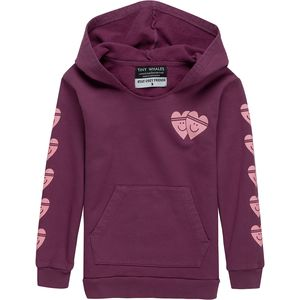 Tiny Whales Hooded Sweatshirt - Toddler Girls'