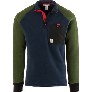 Topo Designs Mountain Fleece Pullover Jacket - Men's