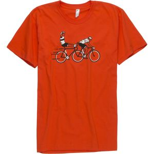 Twin Six Wheel Sucker T-Shirt - Men's