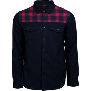 United by Blue Banff With Plaid Trim Flannel Shirt - Men's