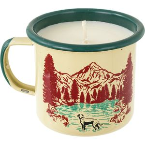 United by Blue Off Leash Enamel Candle Mug