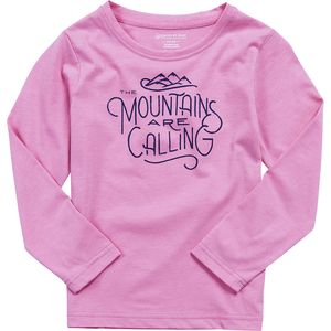 United by Blue Mountains Are Calling Crew Top - Toddler Girls'