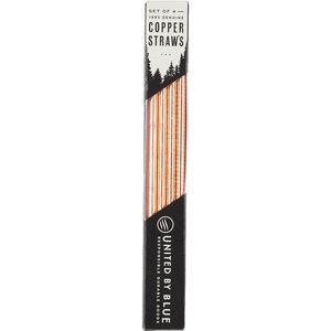 United by Blue Copper Straw Set