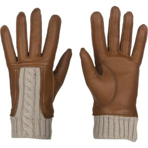 UGG Alexis Glove with Cable Knit Trim