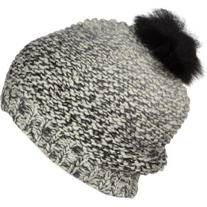 UGG Grand Meadow Loose Novelty Fur Pom Beanie - Women's