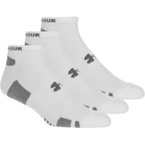 Under Armour HeatGear No Show Sock - 3-Pack