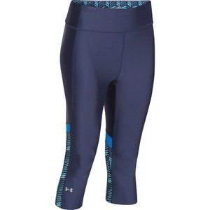 Under Armour Heatgear Alpha Novelty Capri - Women's