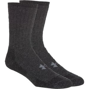 Under Armour Two Pair Boot Crew Socks - Men's