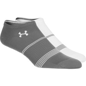 Under Armour UA Grippy III No Show Socks - Women's - 2-Pack