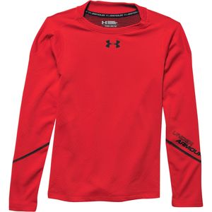 Under Armour ColdGear Infrared Grid Mock Top - Boys'