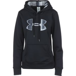 Under Armour Storm Armour Fleece Printed Big Logo Pullover Hoodie - Women's
