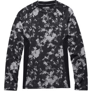 Under Armour HeatGear Armour Up Printed Fitted Top - Boys'