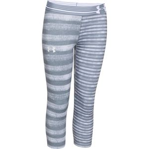 Under Armour HeatGear Printed Armour Capri Pant - Girls'