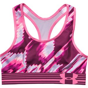 Under Armour HeatGear Armour Printed Sports Bra - Girls'