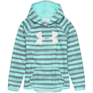Under Armour Armour Fleece Printed Big Logo Pullover Hoodie - Girls'