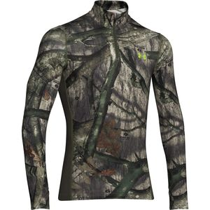 Under Armour ColdGear Infrared Scent Control Tevo Zip-Neck Top - Men's