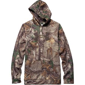 Under Armour Camo Big Logo Pullover Hoodie - Tall - Men's