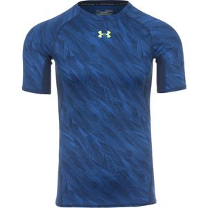 Under Armour HeatGear Armour Printed Compression Shirt - Short-Sleeve - Men's