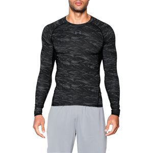 Under Armour HeatGear Armour Printed Compression Shirt - Long-Sleeve - Men's