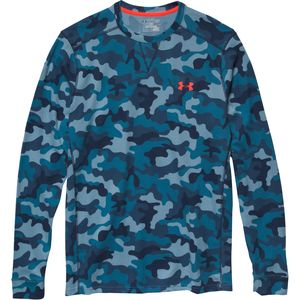 Under Armour Amplify Thermal Camo Crew - Long-Sleeve - Men's