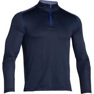 Under Armour ColdGear Infrared Grid 1/4-Zip Mock-Neck Crew - Long-Sleeve - Men's