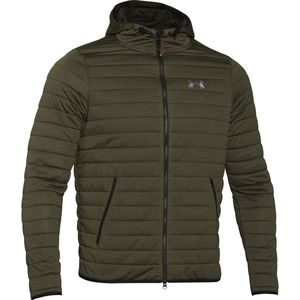 Under Armour Quilted Hooded Fleece Jacket - Men's