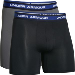 Under Armour Performance Mesh 6in BoxerJock - 2-Pack - Men's