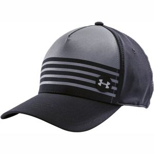 Under Armour Striped Low Crown Stretch Fit Cap - Kids'