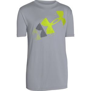 Under Armour Rising Pixelated Logo T-Shirt - Short-Sleeve - Boys'