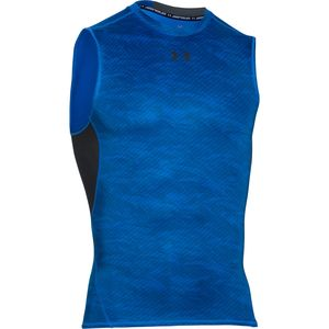 Under Armour HeatGear Armour Printed Shirt - Sleeveless - Men's
