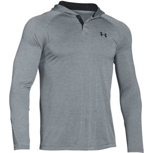 Under Armour Tech Popover Long-Sleeve Henley Shirt - Men's