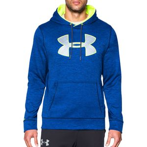 Under Armour Storm Armour Big Logo Twist Fleece Pullover Hoodie - Men's