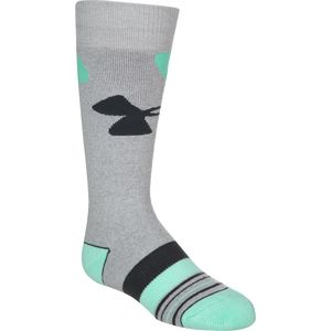 Under Armour UA MTN Big Logo Ski Sock - Girls'
