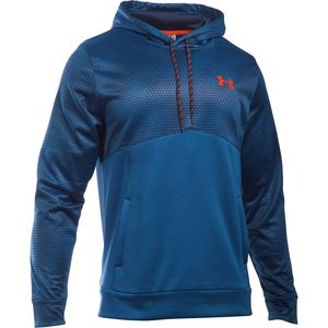 Under Armour UA Storm Armour Fleece Patterned Pullover Hoodie - Men's