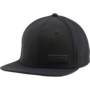 Under Armour Embossed Flat Brim Stretch Hat
