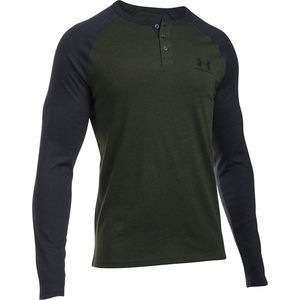 Under Armour Triblend CB Henley Shirt -  Men's