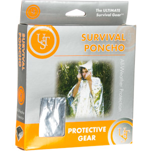 Ultimate Survival Technologies UST Auto Survival Poncho PDQ
