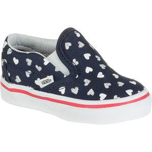 Vans Classic Slip-On Skate Shoe - Toddler Girls'